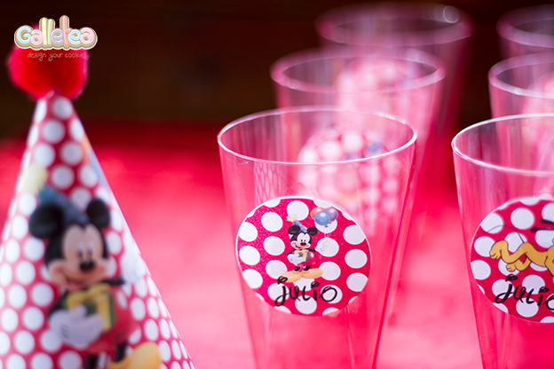 Mesa dulce para fiesta de cumple de Mickey Mouse  e67fc556889