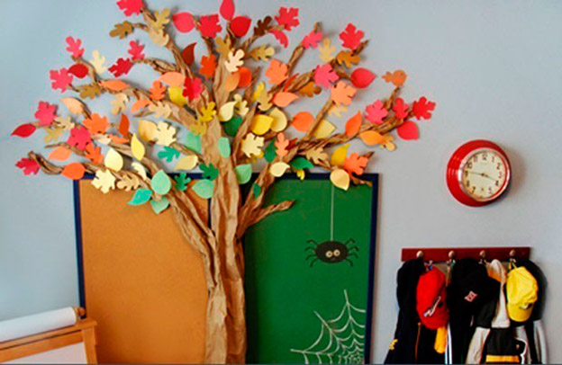 Autumn Classroom Decoration Ideas ~ Ideas básicas para una decoración de otoño galletea