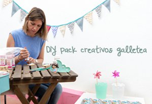 DIY PACKS CREATIVOS GALLETEA