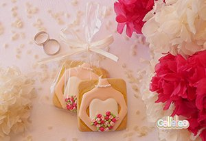 Galletas decoradas novia