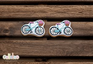 Galletas Decoradas Boda Bicicleta